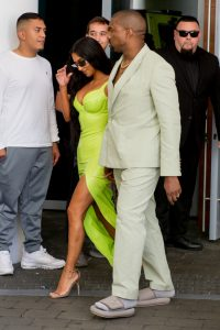 Kanye Defends His Small Sandals
