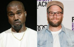 Kanye West Followed Seth Rogan Around Quoting His Movies