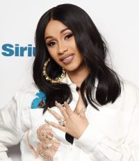 Cardi B Wants One Pointy Fingernail For Boogers