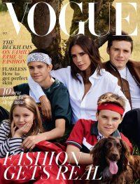 Beckham Family's British Vogue Cover Sparks Divorce Rumors