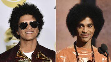 Will Bruno Mars Portray Prince In Biopic?