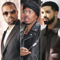 Kanye Has Words For Drake & Nick Cannon