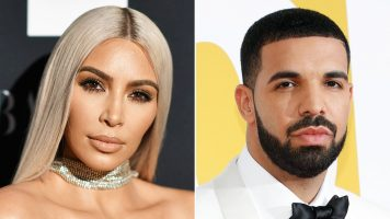 Kim K Shuts Down Rumors She Hooked Up With Drake