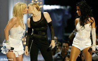 Xtina Was Bothered MTV Cut Away From Her 2003 VMAs Kiss With Madonna