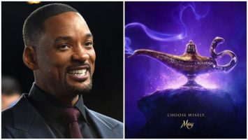"""Will Smith Shared Poster for Disney's Live-Action """"Aladdin"""""""
