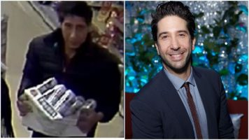 David Schwimmer Did NOT Steal The Beer