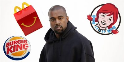 Kanye West Got Roasted By Burger King & Wendy's