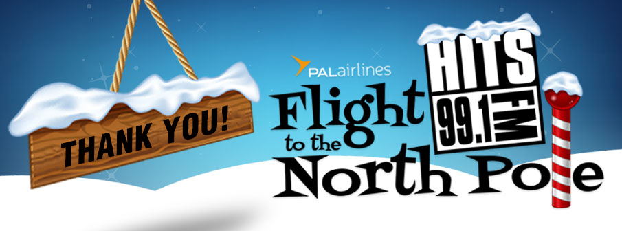 HITS FM'S Flight to the North Pole