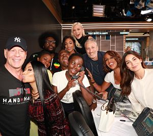 All the celebs came out last night to raise money for hurricane relief!