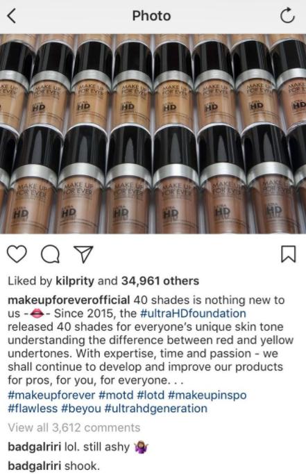 Image result for makeup forever fenty rihanna