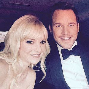Anna Faris says Chris Pratt was not her best friend.