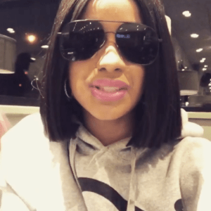 Cardi B is staying with her cheating fiance!