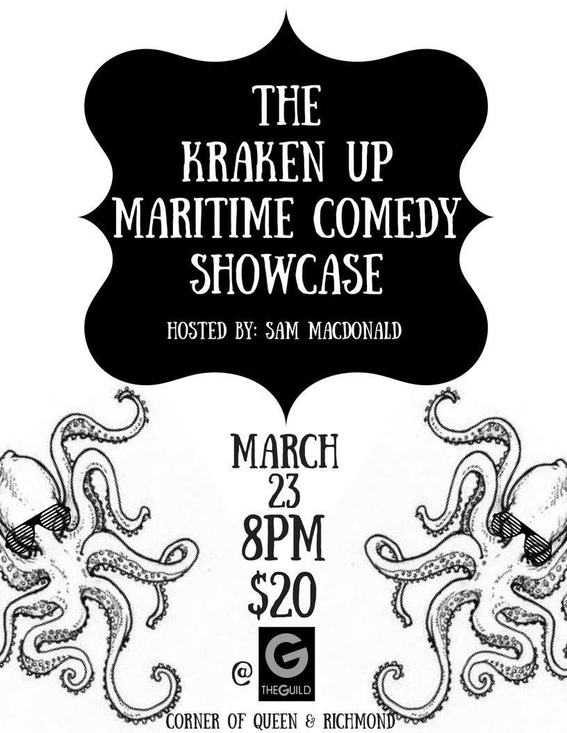 Kraken Up Maritime Comedy Showcase | Ocean 100 - Charlottetown