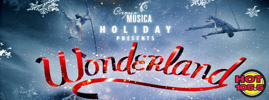 Win Tickets To Cirque Music Presents Wonderland