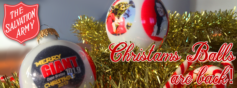 merry christmas we wish you - Giant Christmas Balls