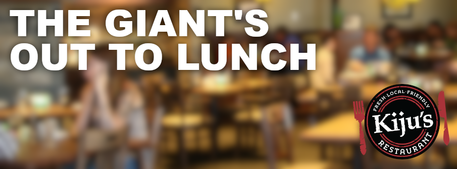 Feature: http://www.giant1019.com/the-giants-out-to-lunch/