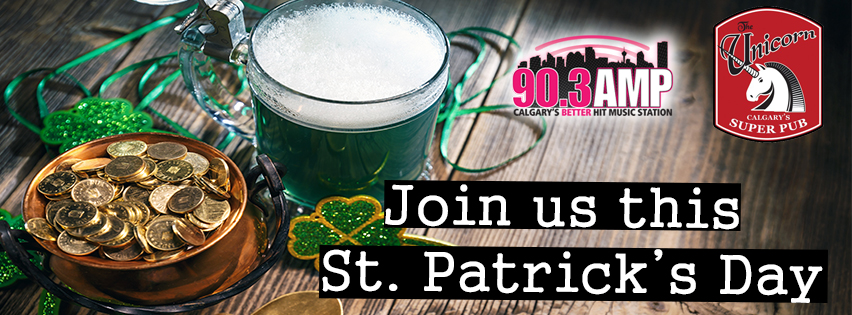 Join AMP Radio this St. Patrick's Day!