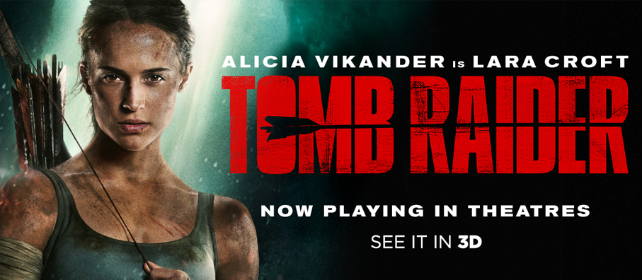 Win your way to Tomb Raider