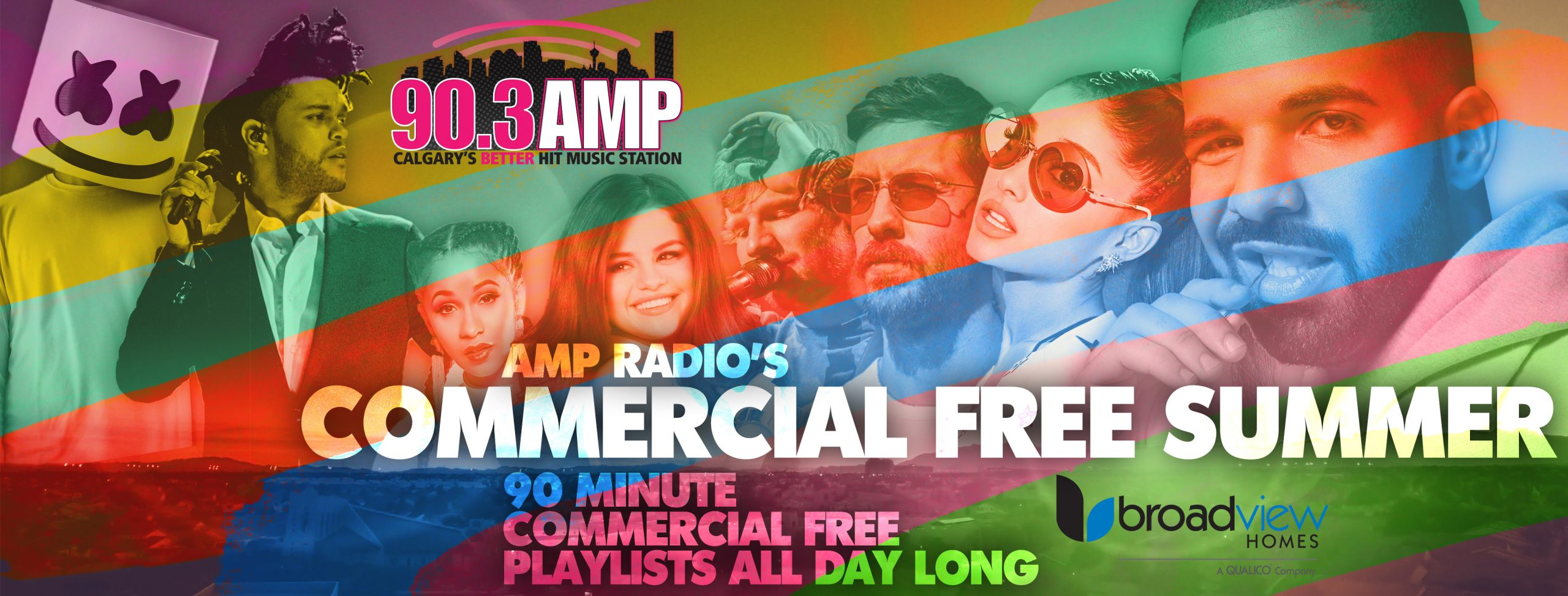 AMP Radio's Commercial Free Summer