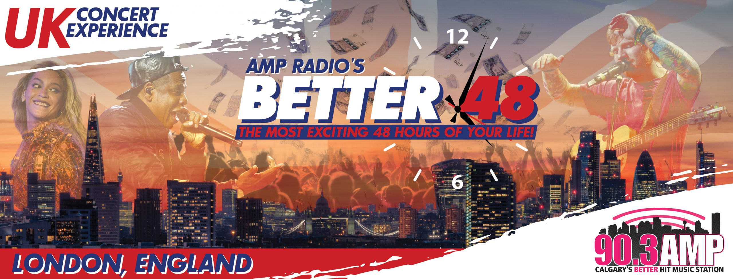 AMP Radio's Better 48 – UK Concert Experience