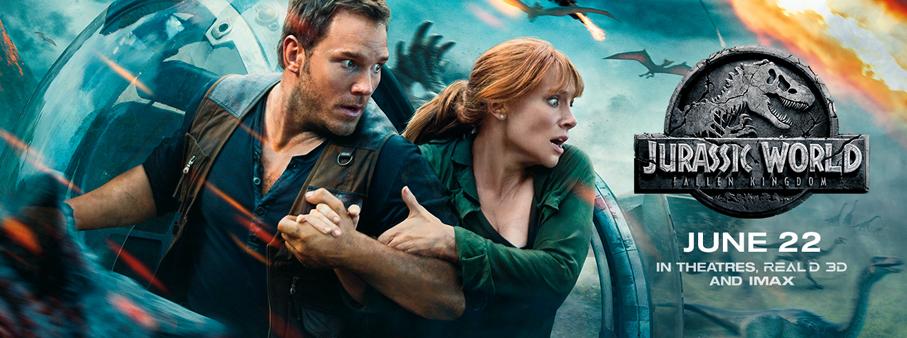 Free Movie Friday – Jurassic World: Fallen Kingdom