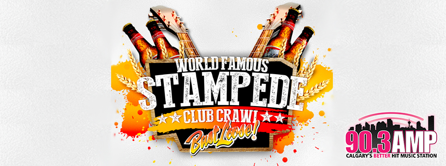 Win your way on the World Famous Stampede Club Crawl