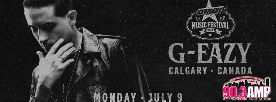 Free Ticket Friday – Win your way to G EAZY