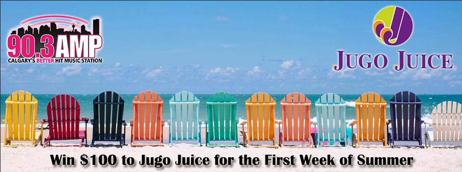 Win a $100 Jugo Juice Gift Card