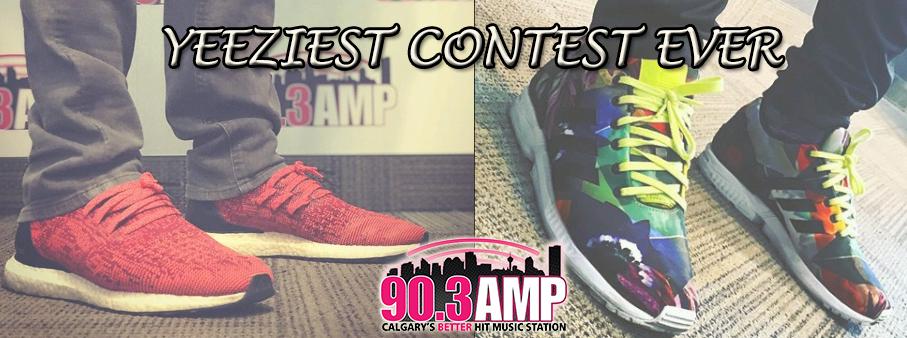 AMP Radio's Yeeziest Contest Ever