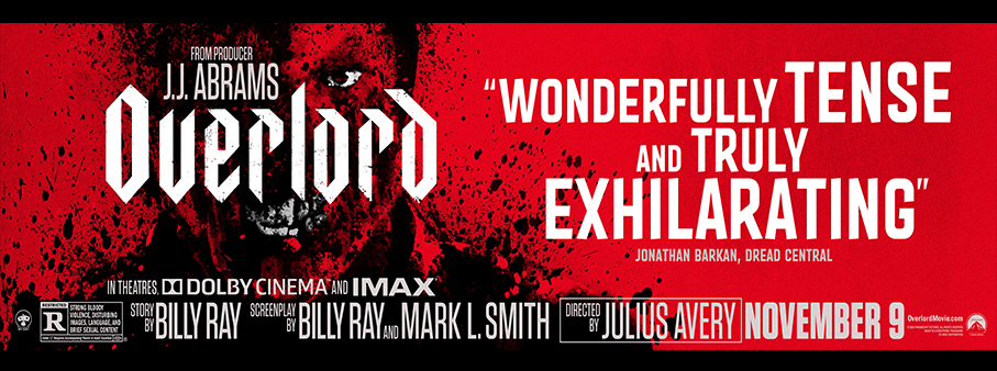 Enter to win a Double Guest Pass to OVERLORD