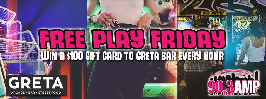 Free Play Friday with Greta Bar!