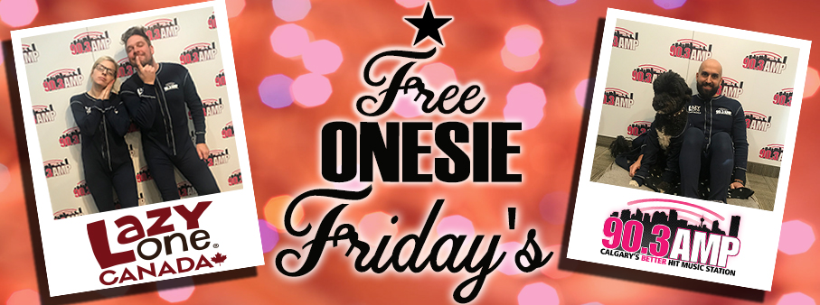 Free Onesie Friday's with Lazy One!